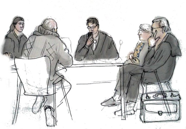 Lawyers and Clients negotiating